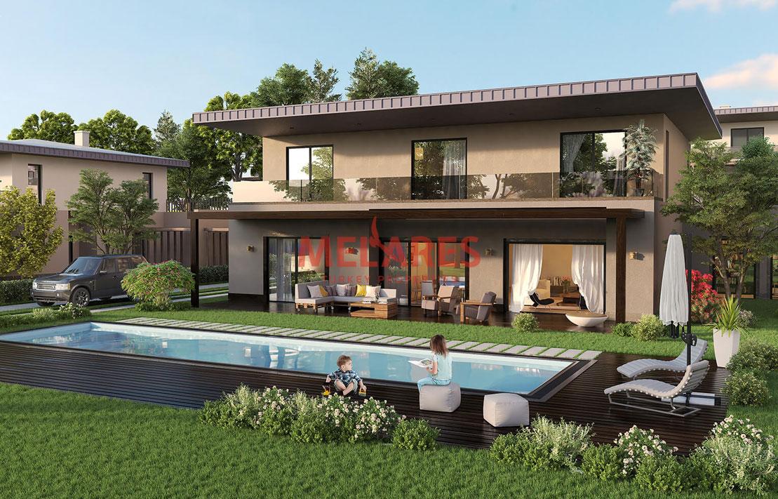 Duplex Villa For Sale With 5 Bedroom in Buyukcekmece-Istanbul